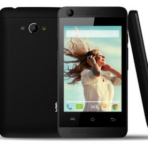 Lava Iris 360 Music Front and Side View