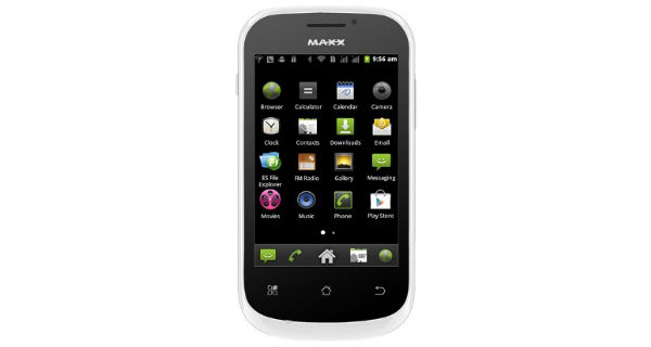 Maxx Genx Droid7 AX353 Front View