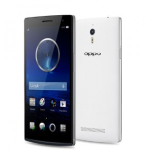 Oppo Find 7a Front and Back View