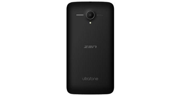Zen Ultrafone 502 Back View