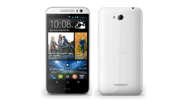 HTC Desire 616 Dual SIM Front and Back View