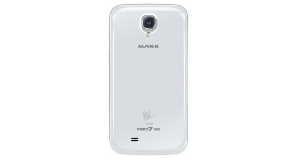 Maxx MSD7 3G AX51 Back View