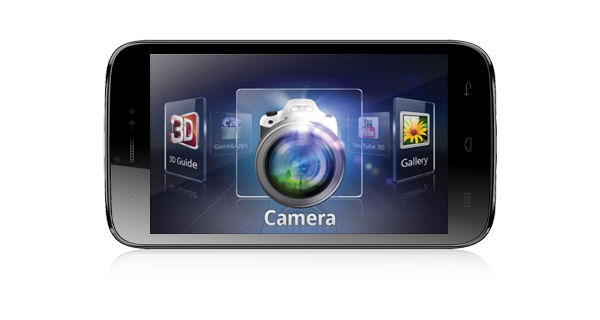 Micromax A115 Canvas 3D Horizontal View
