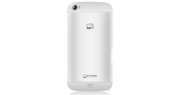 Micromax A240 Canvas Doodle 2 Back View