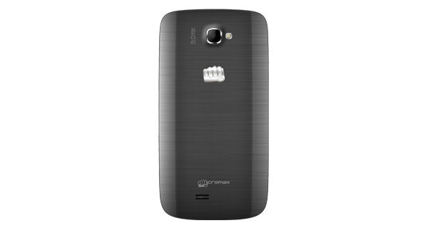 Micromax Canvas Engage A091 Back View