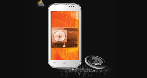 Micromax Canvas Music A88 Front View