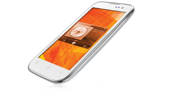 Micromax Canvas Music A88 Side View