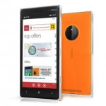 Nokia Lumia 830 Front and Back View