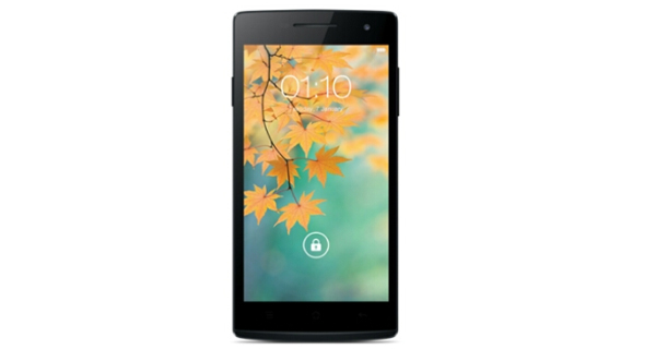 Oppo Find 5 Mini Front View