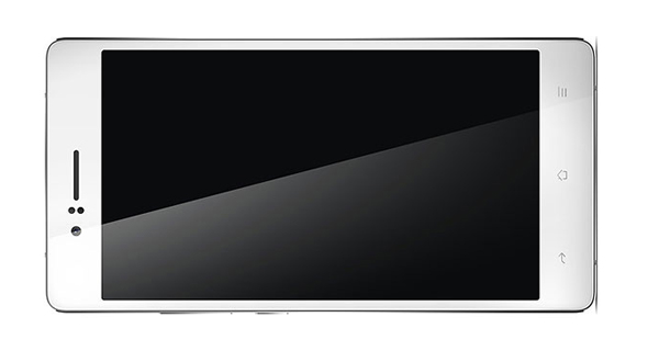 Oppo R5 Horizontal Front View