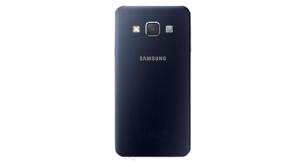 Samsung Galaxy A3 Back View