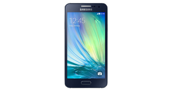 Samsung Galaxy A3 Front View