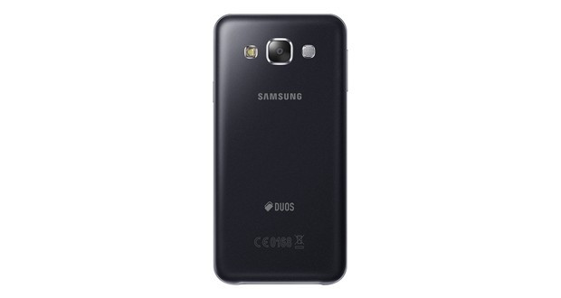 Samsung Galaxy E5 Back View