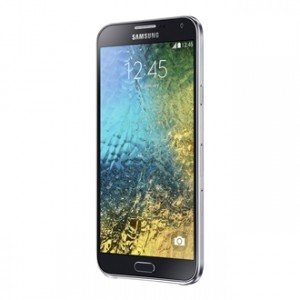 Samsung Galaxy E7 Front and Side View