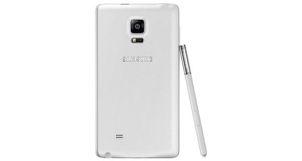 Samsung Galaxy Note Edge Back View