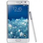 Samsung Galaxy Note Edge Front View
