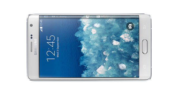 Samsung Galaxy Note Edge Horizontal Front View