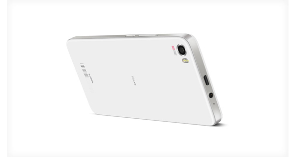 Lava Iris X8 Back View