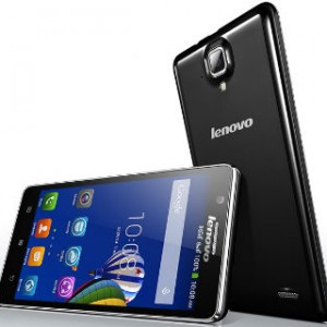 Lenovo A536 Front and Back View