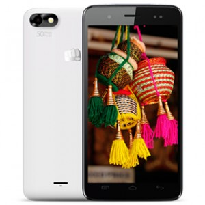 Micromax Bolt D321 Front & BAck View