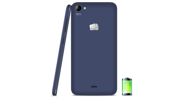 Micromax Canvas Pep Q371 Back & Side View