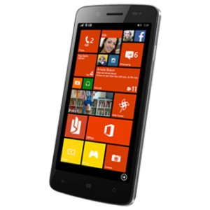 Micromax Canvas Win121 Front & Side View