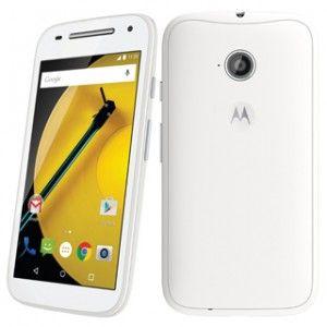 Motorola Moto E (2nd Gen) Front & Back View