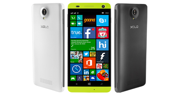XOLO Win Q1000 Overall View