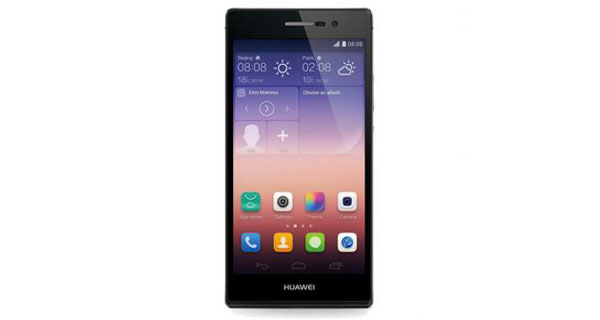Huawei Ascend P7 Front View