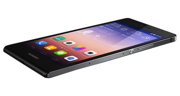 Huawei Ascend P7 Right Side View