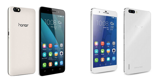 Huawei Honor 4X & Honor 6 Plus Overall View