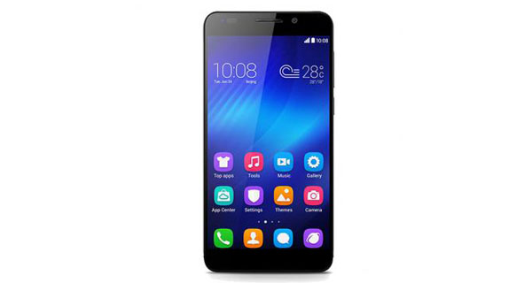 Huawei Honor 6 Front View
