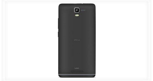 Lava Iris Fuel50 Back View