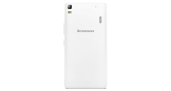 Lenovo A7000 Back View