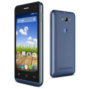 Micromax Bolt Q324 Front & Back View