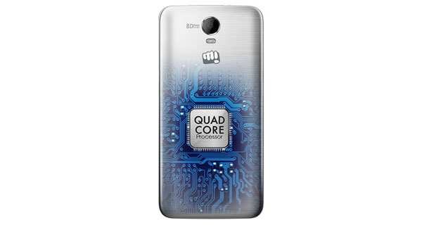 Micromax Canvas Juice 2 Back View