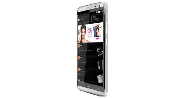 Micromax Canvas Juice 2 Side View