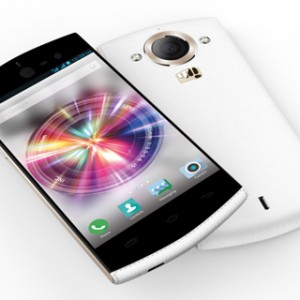 Micromax Canvas Selfie Front & Back View