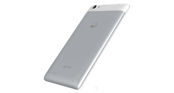 Micromax Canvas Tab P470 Side View