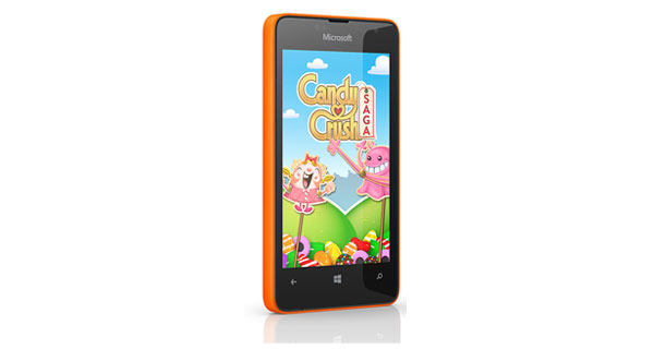 Microsoft Lumia 430 Dual Left Side View