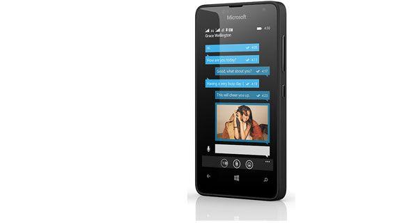 Microsoft Lumia 430 Dual Right Side View