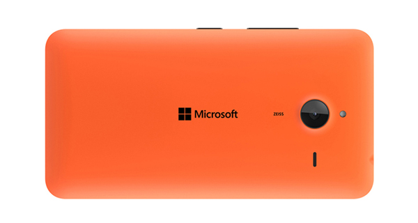 Microsoft Lumia 640 XL Dual Back View