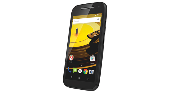 Motorola Moto E (2nd Gen) Front & Side View