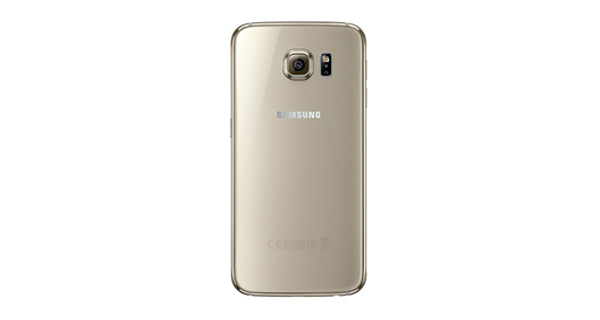 Samsung Galaxy S6 Back View