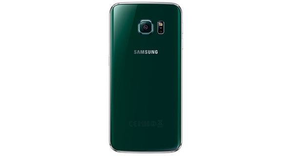 Samsung Galaxy S6 Edge Back View