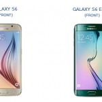Samsung Galaxy S6 and S6 Edge Front View