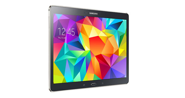 Samsung Galaxy Tab S 10.5 Left View