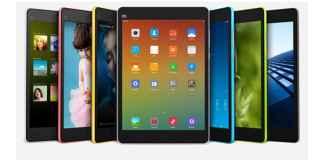 Xiaomi MiPad Front & Sides