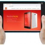 Xiaomi MiPad Front View