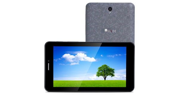 iBall Slide Q40i Front & Back View